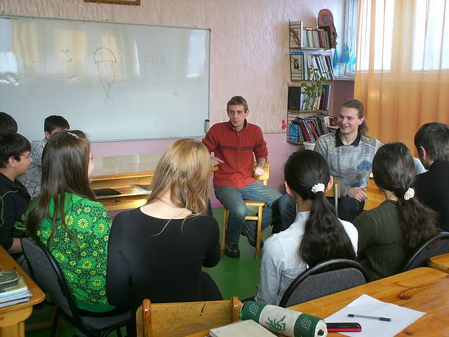 Darbs Kazahstānas skolā