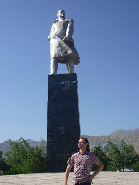 Ļeņina statuja