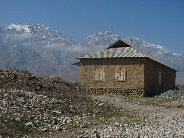 Kalnu mājiņa Tadžikistānā