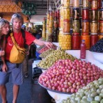 Olīvju tirgus Marokā
