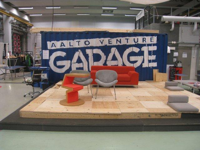 Aalto Universitāte - Venture Garage