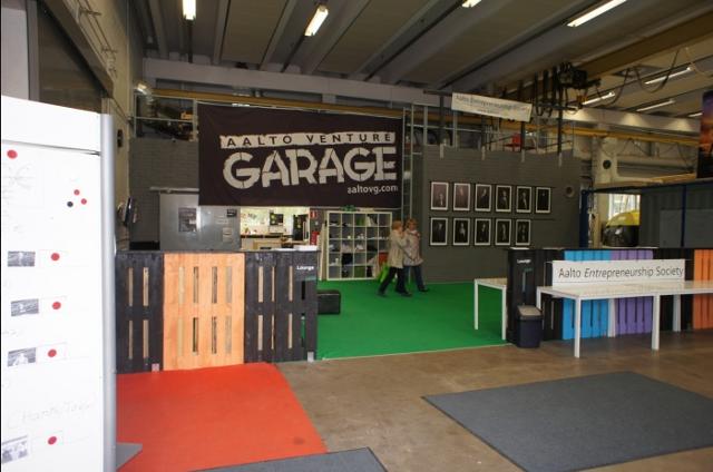 Startup Sauna - Venture Garage